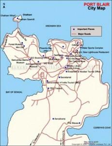 Portblair Travel City Map