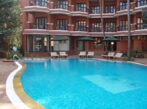 The Baga Marina Beach Resort & Hotel, Goa