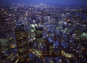 London in Night
