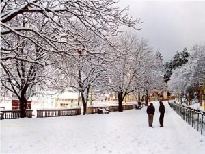 Snow in Nainital