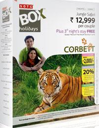 Corbett Safari SOTC Box Holidays