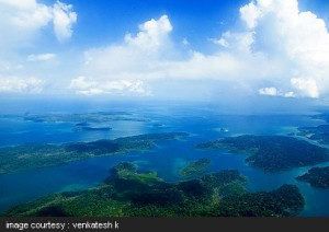 Aerial View Andaman Islands