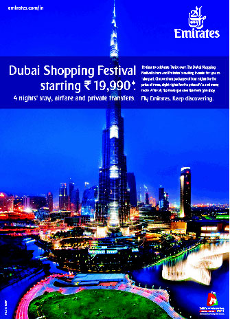 Emirates Holidays Dubai Shopping Festival Travel Packages
