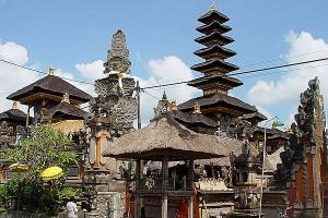 Hindu Temple in Ubud Bali