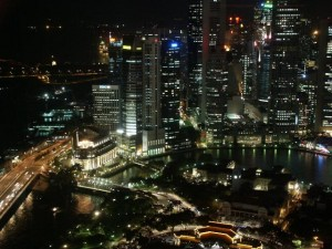 Singapore Boat Qay Night