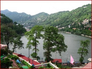 View from Hoetel Himalaya, Nainital