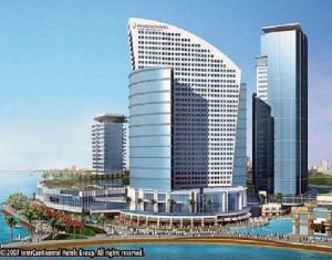 The Crowne Plaza Hotel, Dubai
