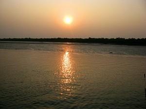 Sunset at Sundarban