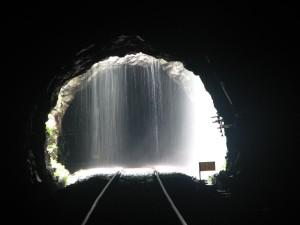 Dudhsagar Falls Tunnel