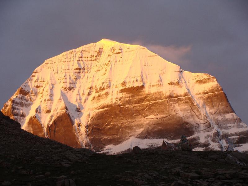 Kailash Mansarovar Sunset