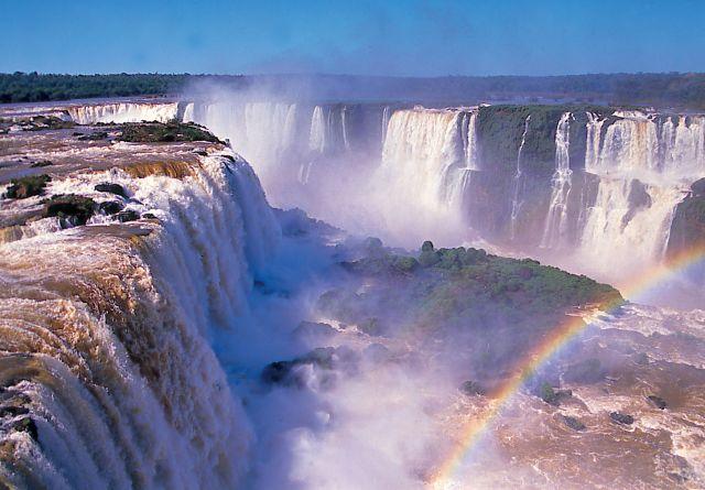 Iguazu Falls in Argentina Brazil