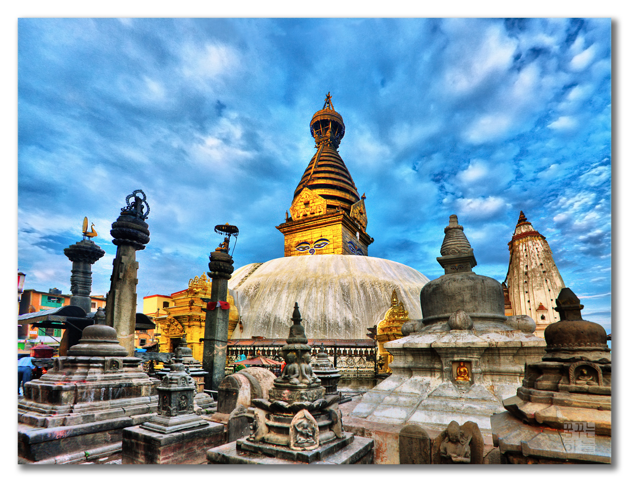 Swayambhunath in Kathmandu Valley