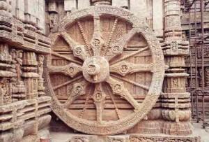 The Wheel of Konark med