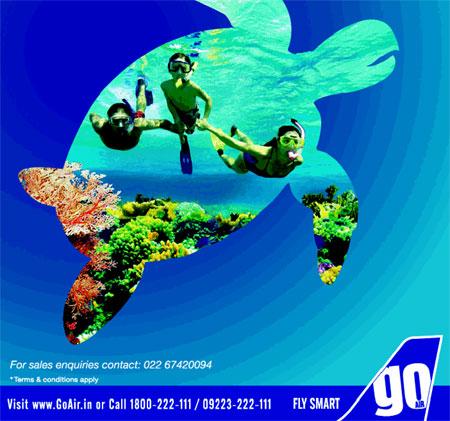 GoAir Flights to Port Blair from New Delhi