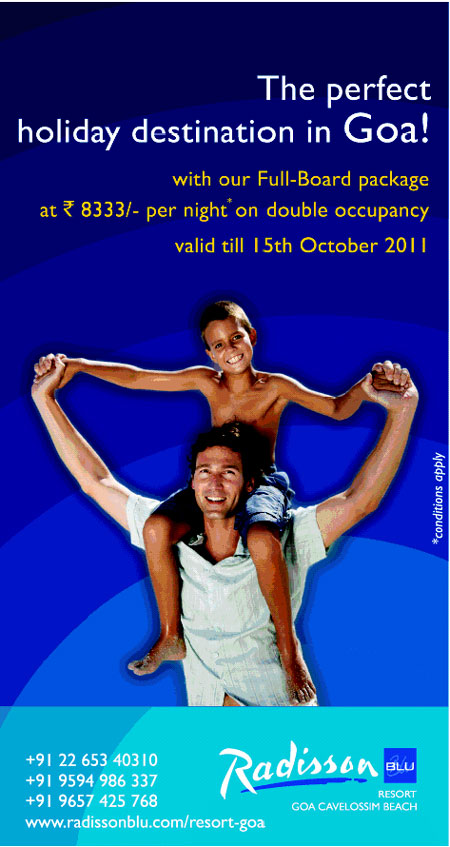 Radission Blu Resort Goa Offers