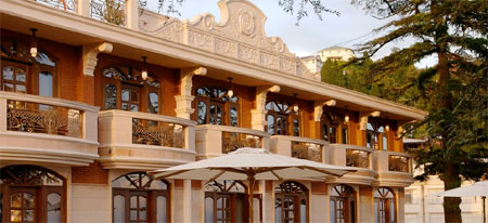 The Golden Palms Hotels and Spa Resort in Mussoorie