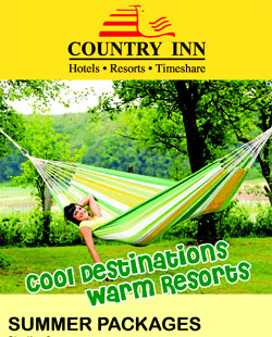 Country Inn Hotels and Resorts Booking Offers and Packages