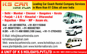 Uttarakhand Car Rentals from K S Car Hire Packages
