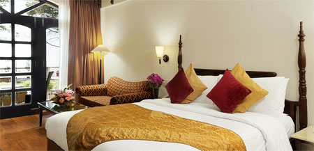 Rooms in The Golden Palms Hotels and Spa Resort in Mussoorie