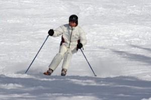 Skiing in Kufri (near Shimla)