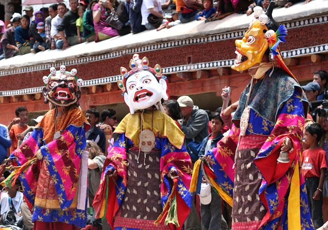 Hemis festival of Leh Ladakh