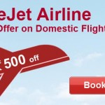 SpiceJet Airline Special offer on Domestic Flights from Goibibo