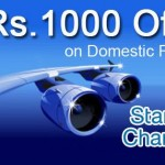 Flat Rs 1000 off on Domestic Flight Booking from Goibibo