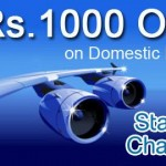 Flat Rs 1000 off on Domestic flight booking from Gobibo