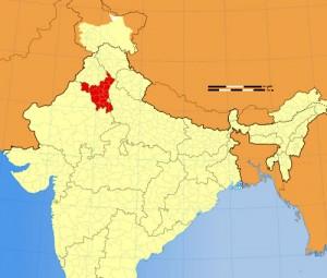 Haryana Location