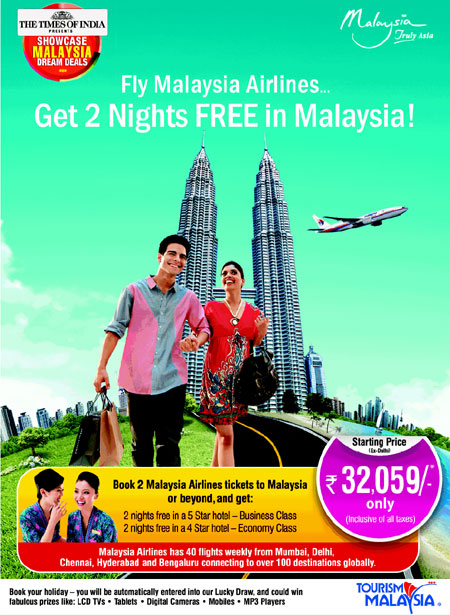Malayasia Airline flight booking offer