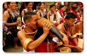 Kohima- Angami tribal village
