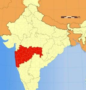 Maharashtra Location