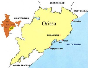 Orissa Location