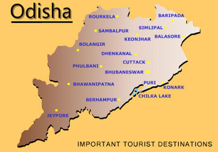 Orissa Tourist Places