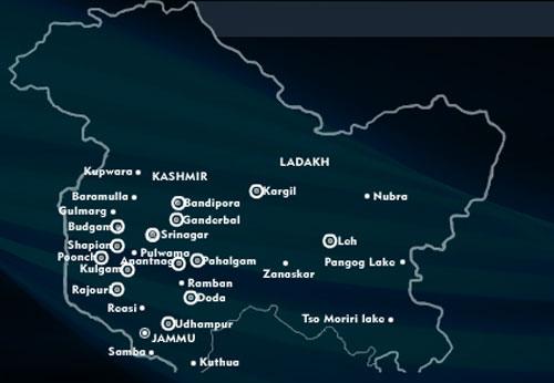 Jammu Kashmir Trekking Destinations