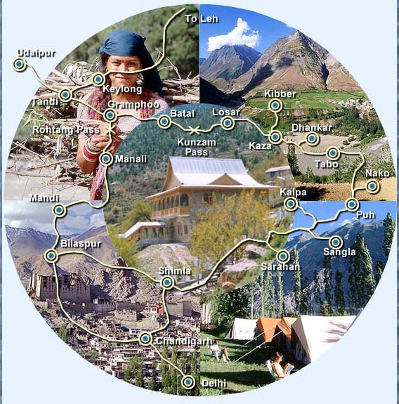 Tribal Tourist Circuit of Himachal Pradesh