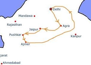 Uttar Pradesh Tourist Maps Uttar Pradesh Travel Maps Uttar Pradesh ...