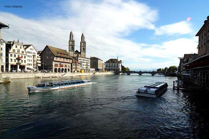 Limmat-river-in-Zurich