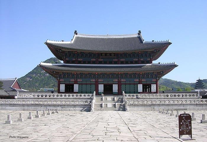 Gyeongbokgung--Korea