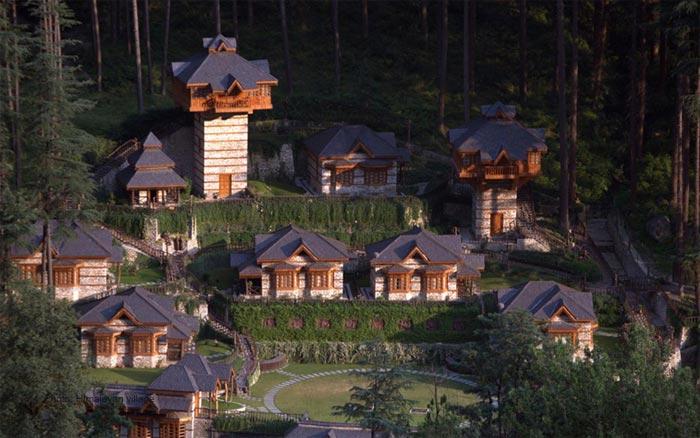 The-Himalayan-Village-Resort,-Kullu.