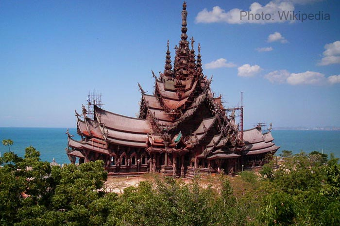 Sanctury-of-Truth--Thailand