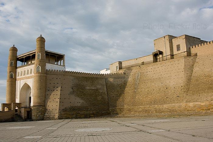 Uzbekistan-ark-fort