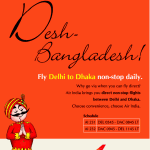 Fly Delhi to Dhaka non-stop daily from Air India