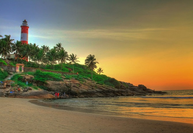 Kovalam and Varkala