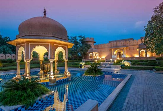 Oberoi Rajvillas Hotel in Jaipur
