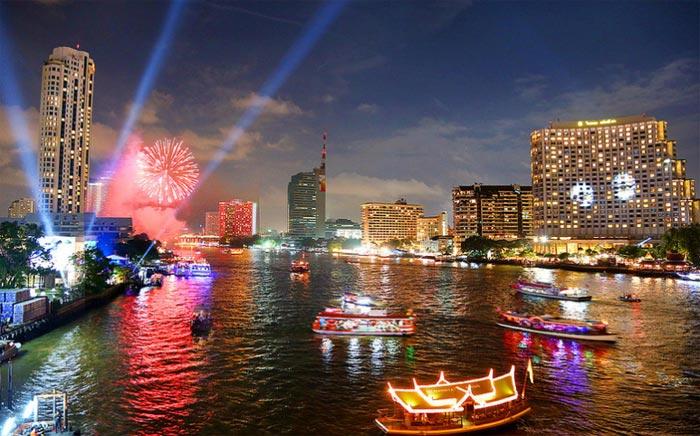 Bangkok at Night Thailand