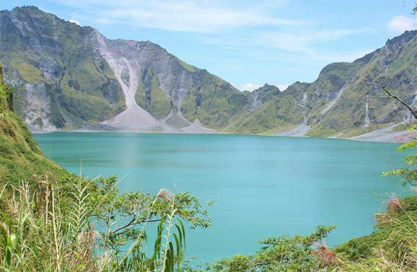 Mount Pinatubo Crater Lake in Phillipines