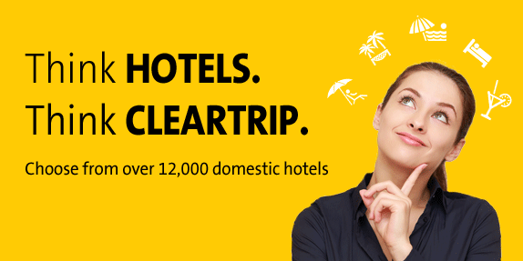 Cleatrip Hotels Booking Discount Offers