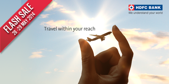 HDFC Bank Flight and hotels offer