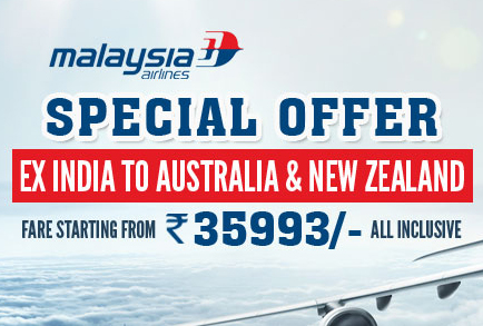 Malaysia Airlines Australia New Zealand Flight Booking Offer